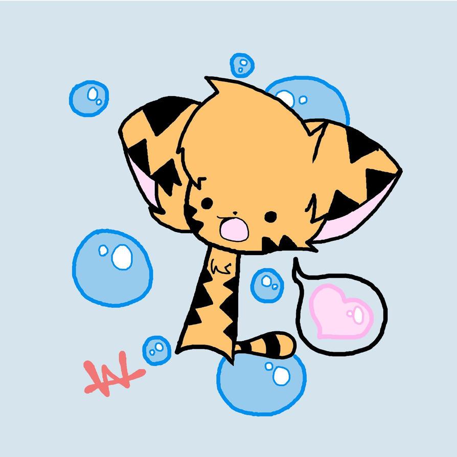 Cute Chibi Tiger Chibi Tiger by