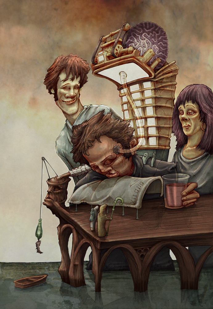 Braindrain by Rubens-Oscroft