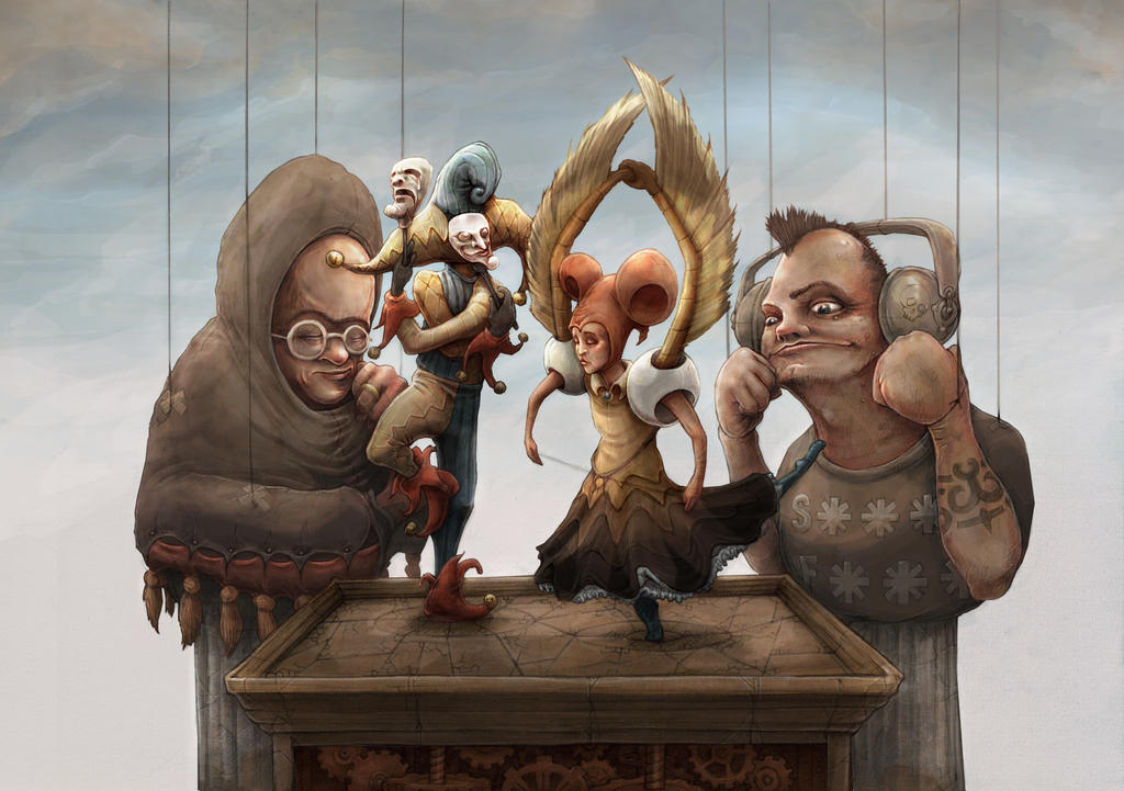 Puppetry by Rubens-Oscroft