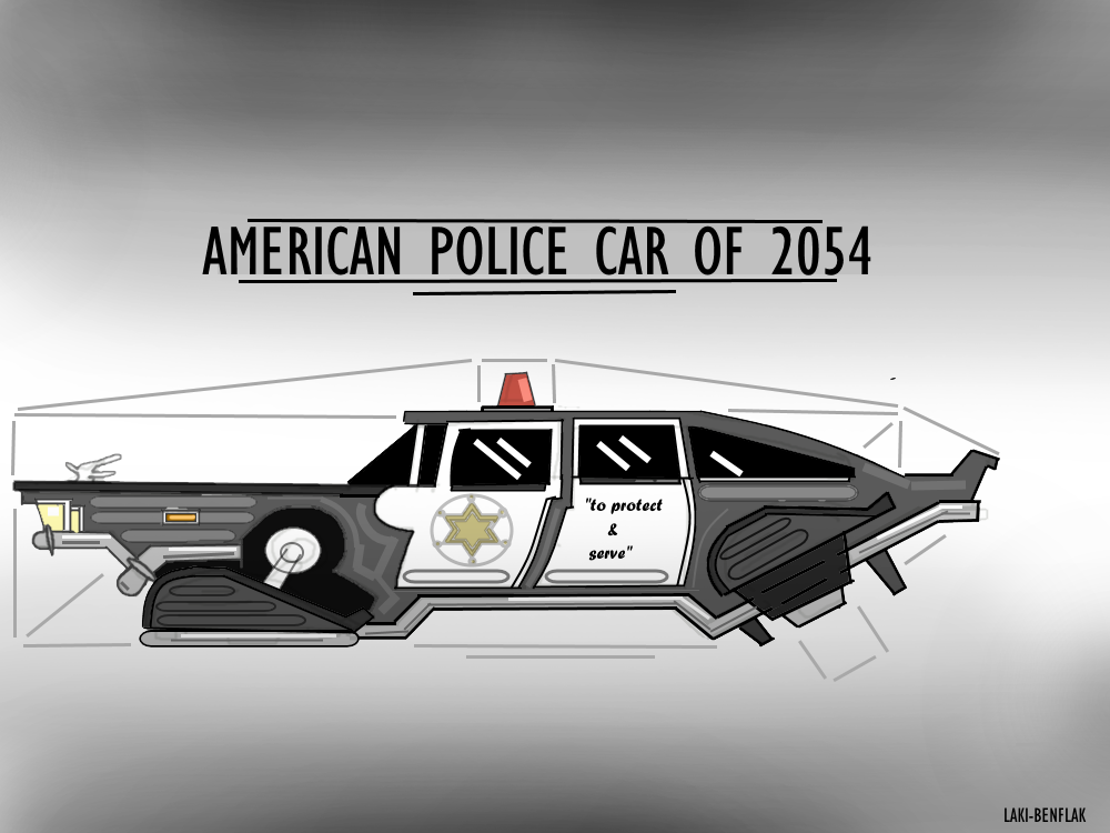 American Police Car Of 2054 by Laki-Benflak on DeviantArt