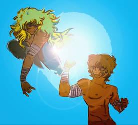 Scorpio and Leo