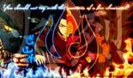 Princess Azula and Flame Princess by The-Blue-Dragon-Lord