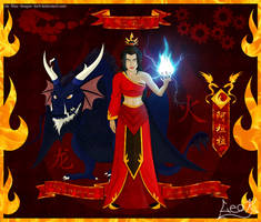 Fire Lord Azula by The-Blue-Dragon-Lord