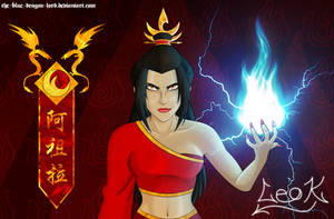Fire Lord Azula - Azzie Only Desktop (1152 x 756) by The-Blue-Dragon-Lord