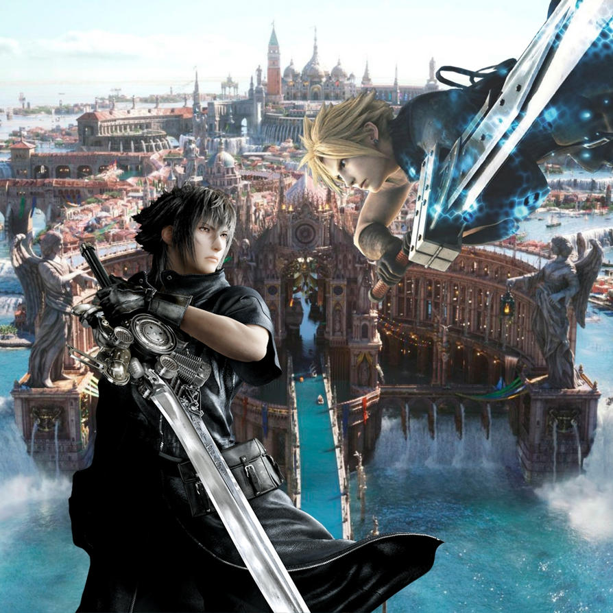 Noctis Lucis Caelum & Cloud Strife - Works | Archive of ...
