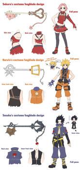 Naruto Heart - Costume Design