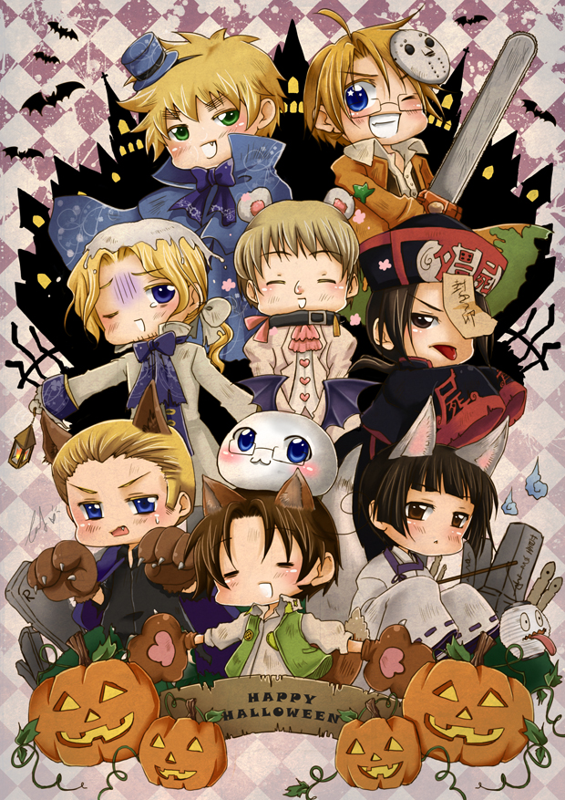 APH - Happy Halloween by mandachan