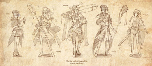 APH: Nordic Countries-RPG ver-