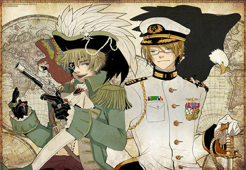APH - Pirate Arthur and Navy Alfred