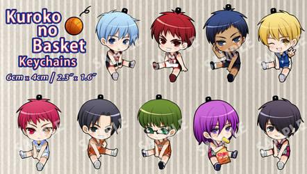 Kuroko no Basket Keychains