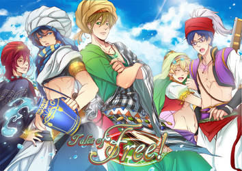 Free! Fanbook: Tales of Free!