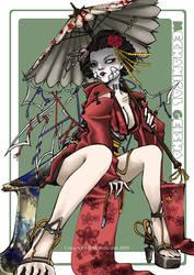 +Mechanical Geisha+ by mandachan