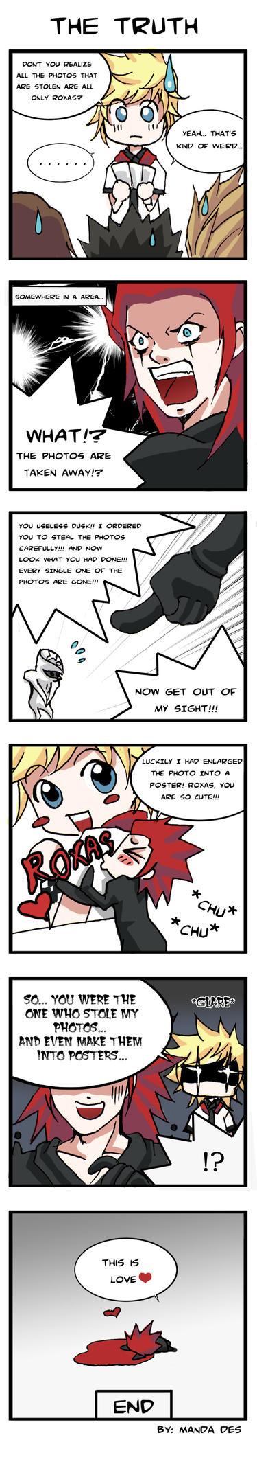 Akuroku Strip - Truth by mandachan