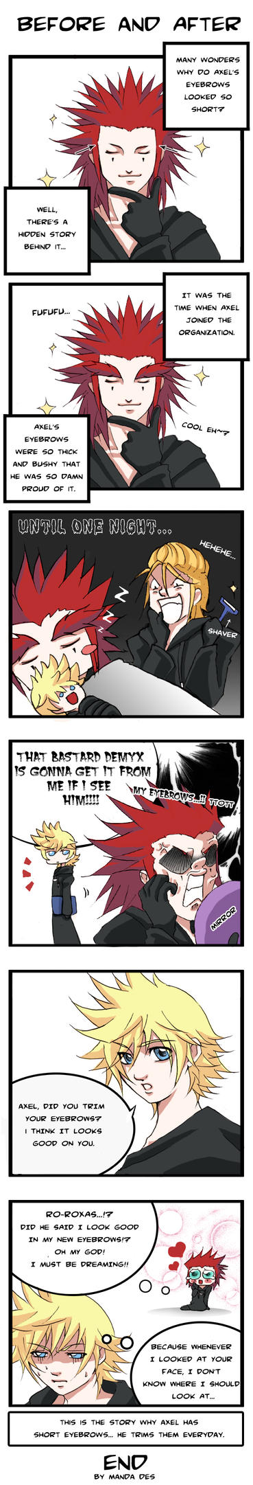 Akuroku - Before and After by mandachan