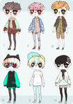[ CLOSED ] adoptables batch 02