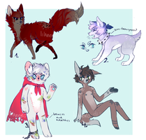 adoptables auction {closed } by sicklilthings
