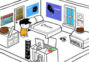 Homestuck (Portal fan-made version) by ICanSpellPotatoe