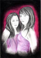 CAMONES sisters by BlondCodfish