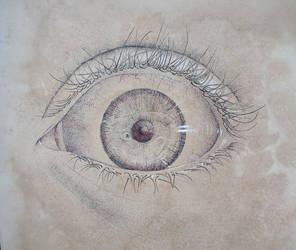 Dot Eye by Lemondjinn