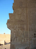 Egyptian Wall by Lemondjinn