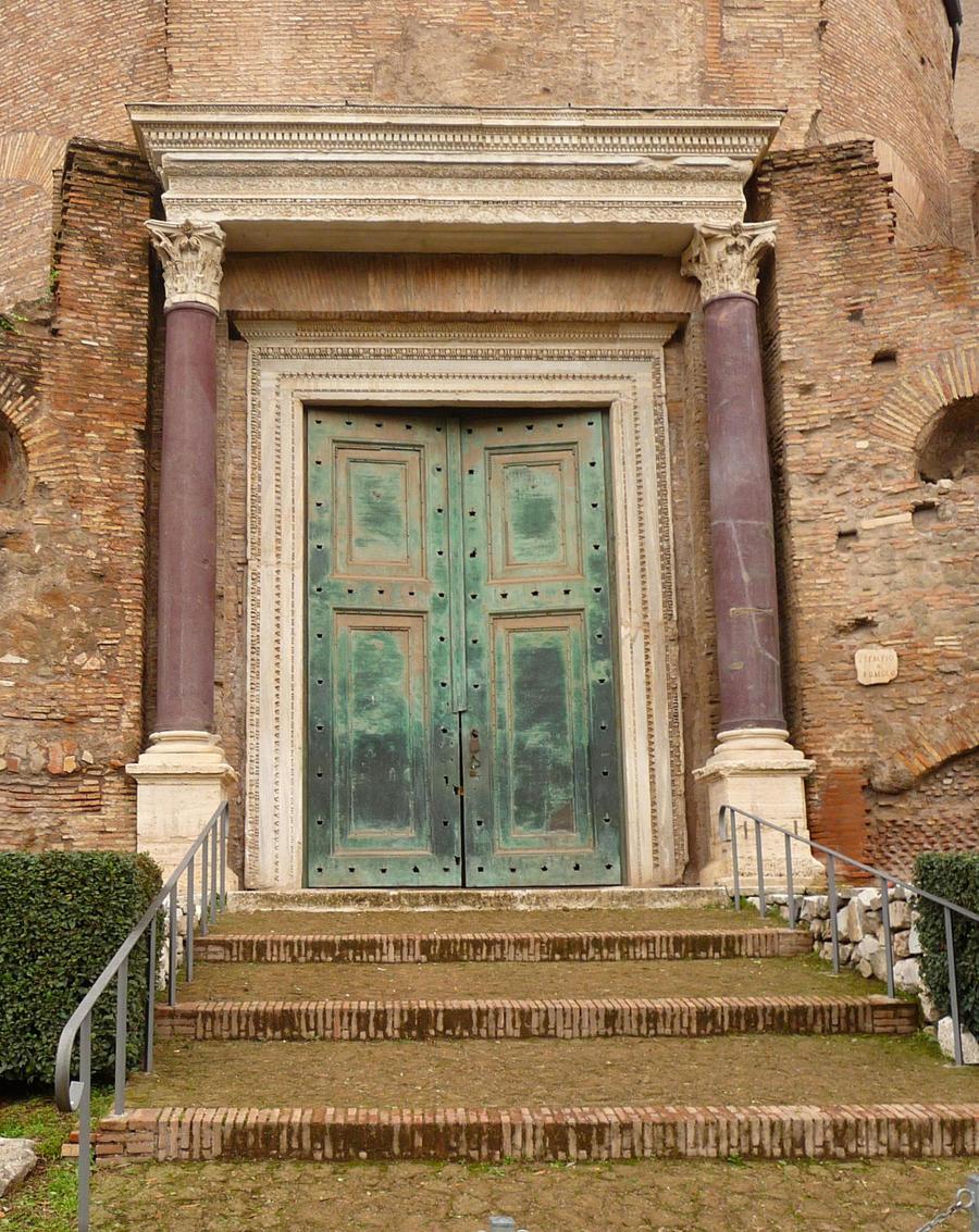 Ancient Roman Doors : Roman doors by lemondjinn on deviantart