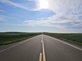 Empty Road by Lemondjinn