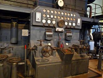 Electricity control pannel