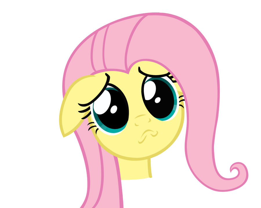 Fluttershy Puppy Face by SirFrederick97 on DeviantArt