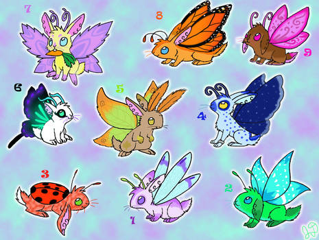 Adoptable Fairy Bunnies -CLOSED-