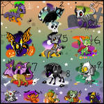 Free Spooky Adoptables Closed