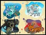 Elemental Creatures Open Species