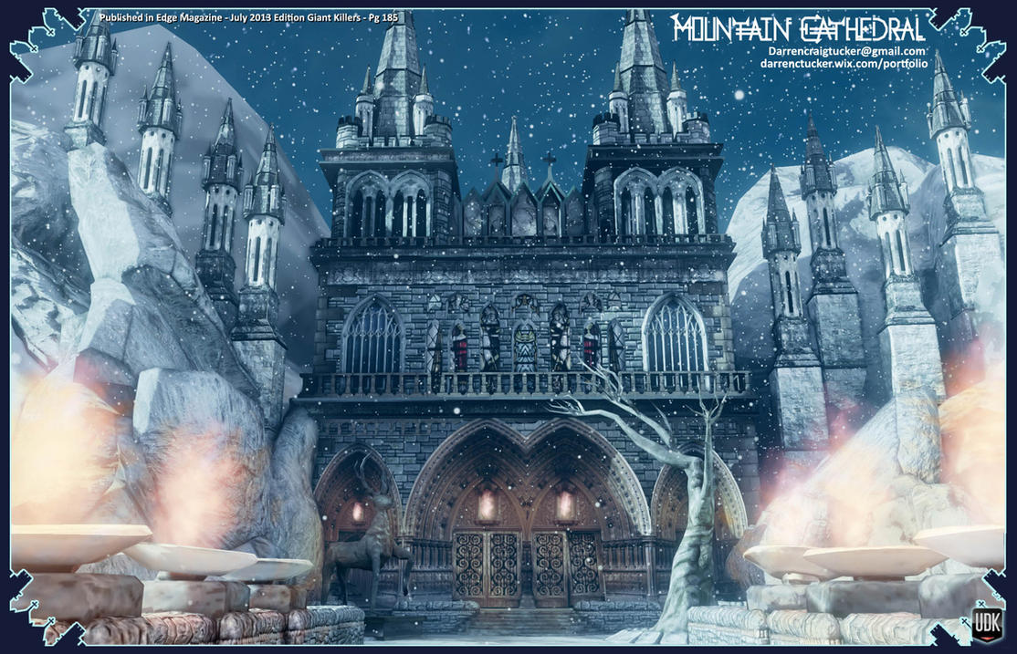 Mountain Cathedral by DTHerculean
