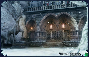 Mountain Cathedral Render3 by DarrenTucker