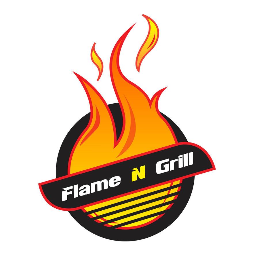 flame n grill logo