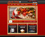 Kwik Wok Design Mockup Index Page