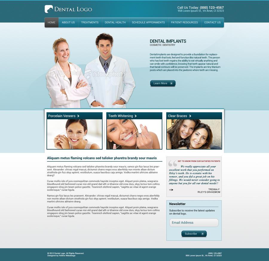 Dental Template 5 by tech32 on DeviantArt