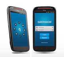 Original Mobile UI design social app by tech32