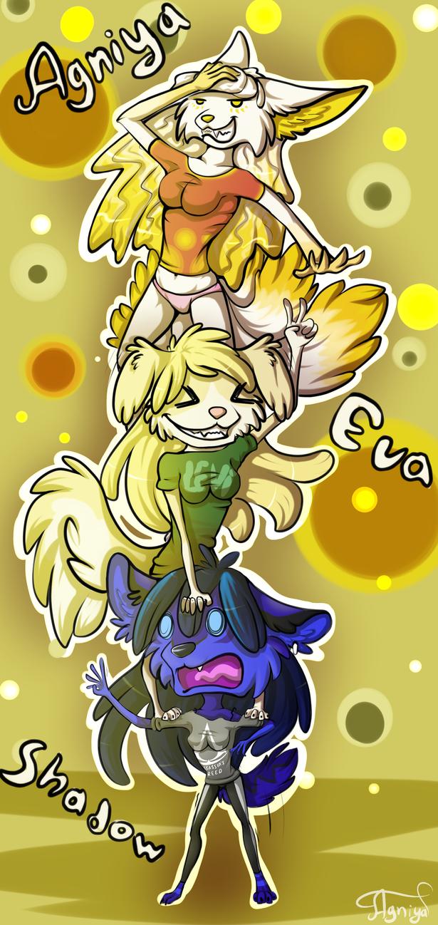 Trio by Agniya-fox