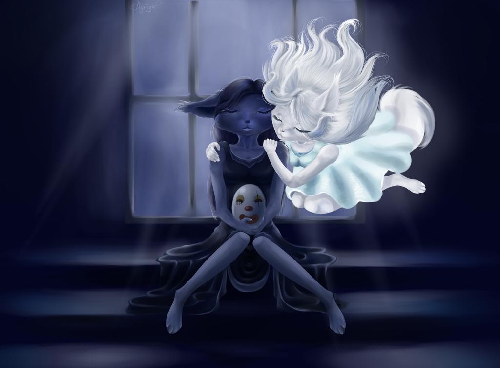 COM: Myr and Myau by Agniya-fox
