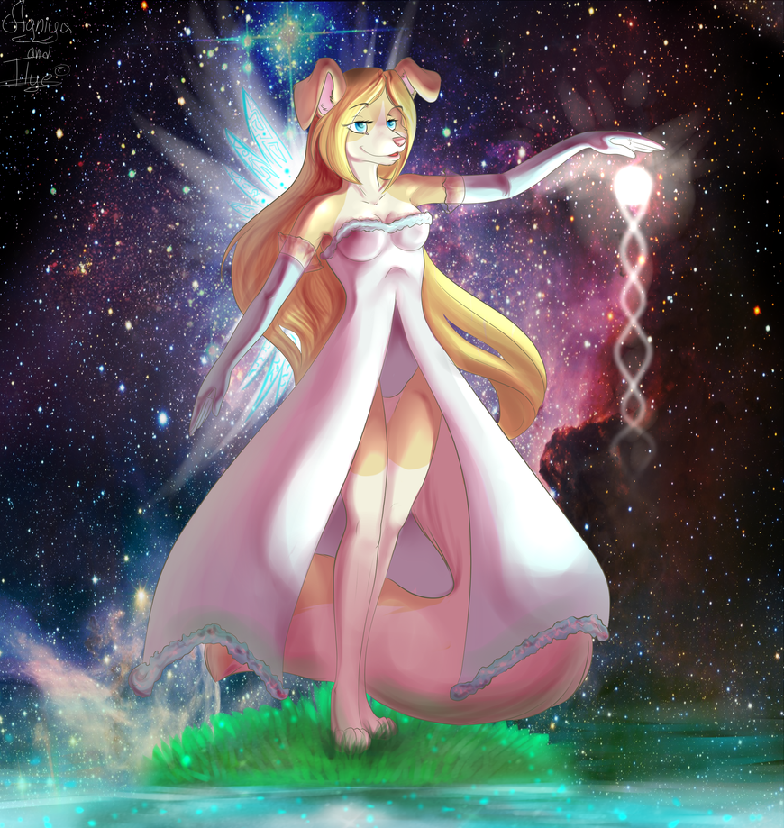 HB gift for Eva! by Agniya-fox
