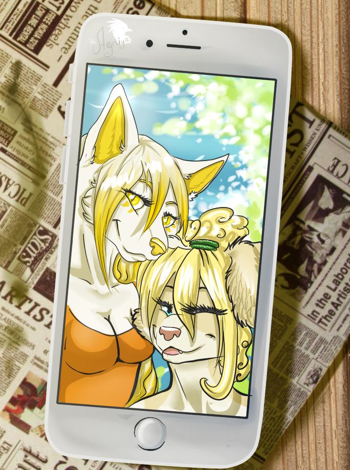 Selfie! by Agniya-fox