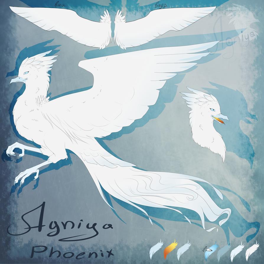 Agniya Phoenix referense sheet 2015 by Agniya-fox
