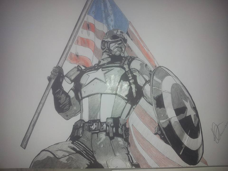 Captain America Comics ! by Emmris-Dessin