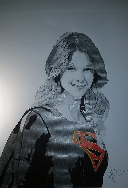 Supergirl by Emmris-Dessin
