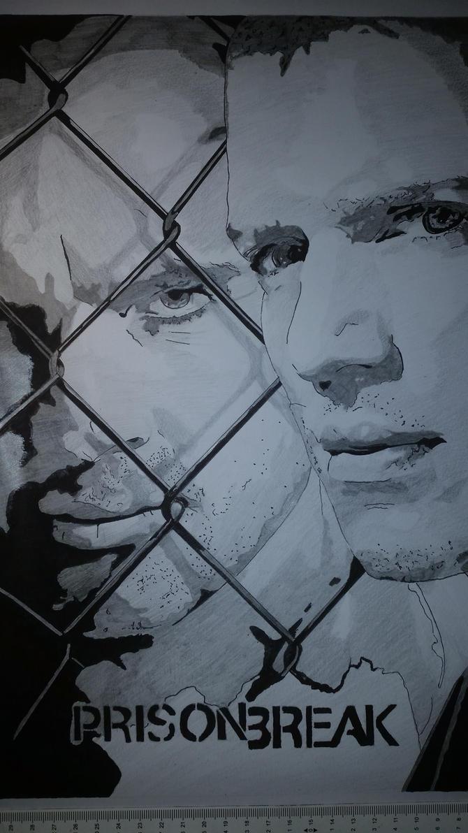 Prison Break by Emmris-Dessin