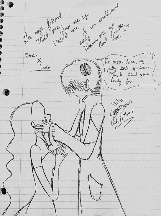 Crossover: Dr. Stein X Lust: Breathe Me by TsUmIwOlFpRiEsTeSs24