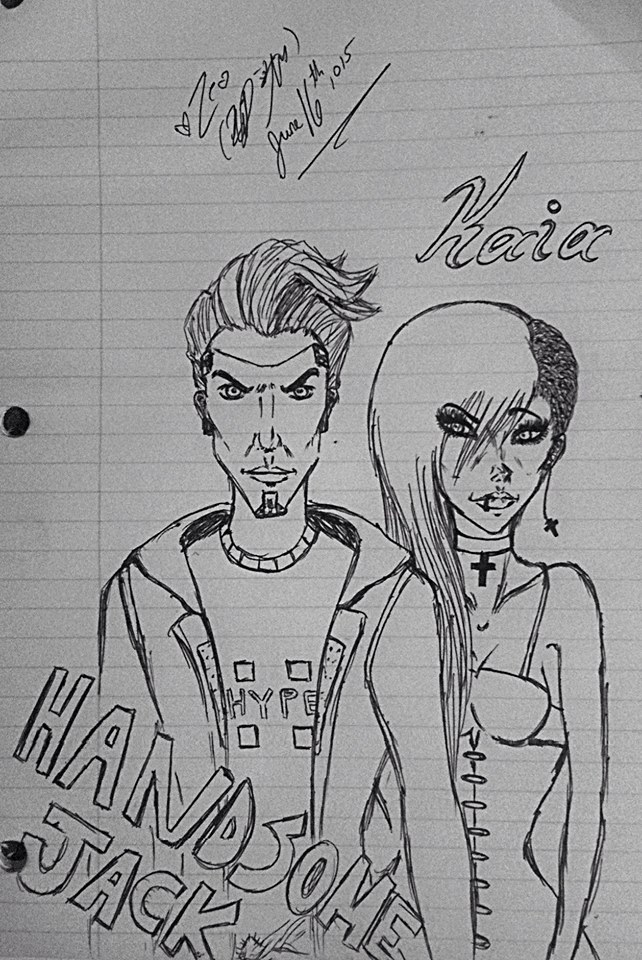 Handsome Jack and Kaia: First HJ attempt by TsUmIwOlFpRiEsTeSs24