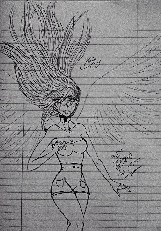 Kaia (mourning siren) by TsUmIwOlFpRiEsTeSs24