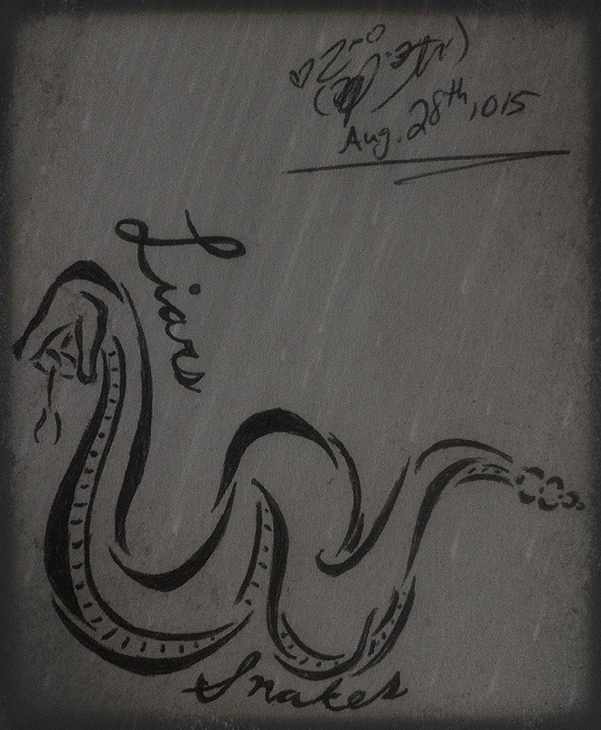 Liars and Snakes (tattoo design) by TsUmIwOlFpRiEsTeSs24