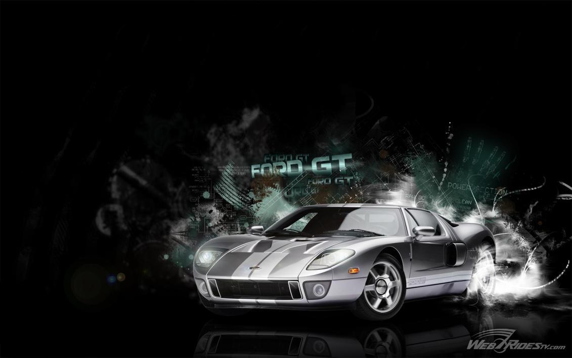 WebRidesTv Ford GT by zachiatrist on DeviantArt
